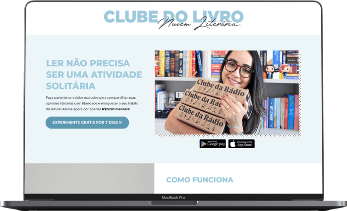 Clube Nuvem Literária